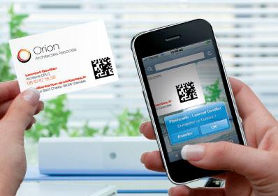 Un QR Code Sur Vos Cartes De Visite