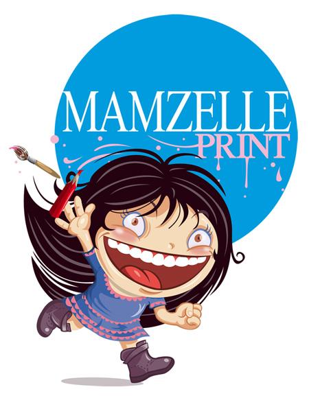 Mamzelle Print par Graetz