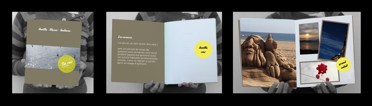 Exemple d'utilisation de la brochure a couverture rigide