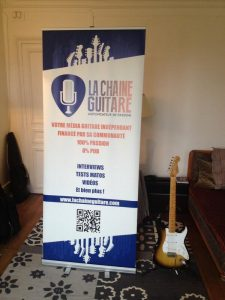 Roll Up La chaine Guitare