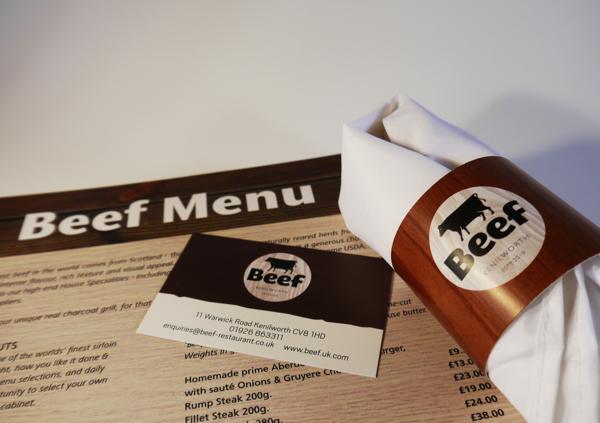 Beef Restaurant - copyright 2014 - Rogue Design