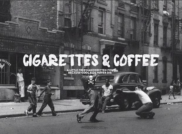 00-CigarretesandCoffee-tipografiagratuita