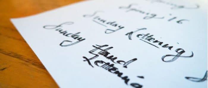 choix typographie