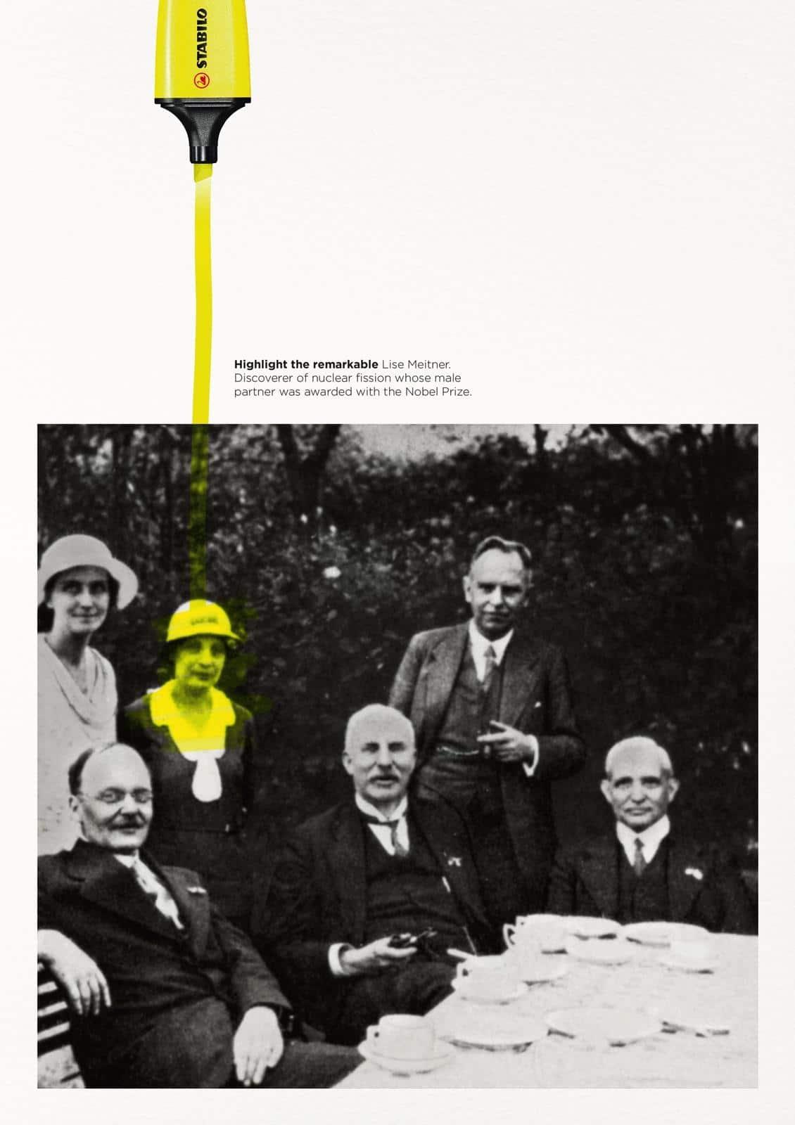 affiche stabile Lise Meitner