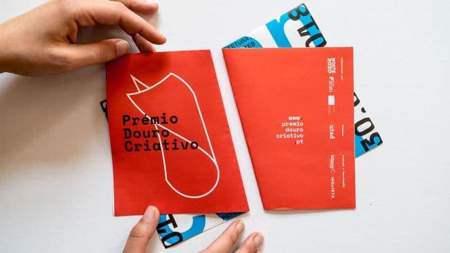 Flyer Prémio Douro Criativo