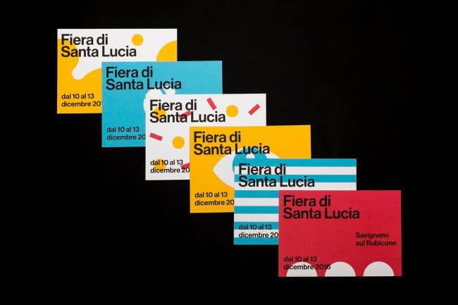 Flyer Fiera di Santa Lucia