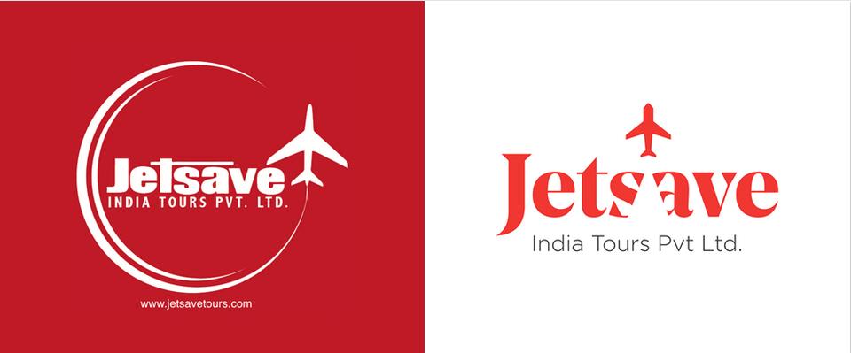 jetsave logo design