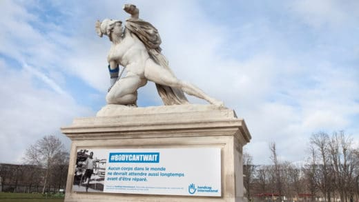 HANDICAP INTERNATIONAL « #BODYCANTWAIT »