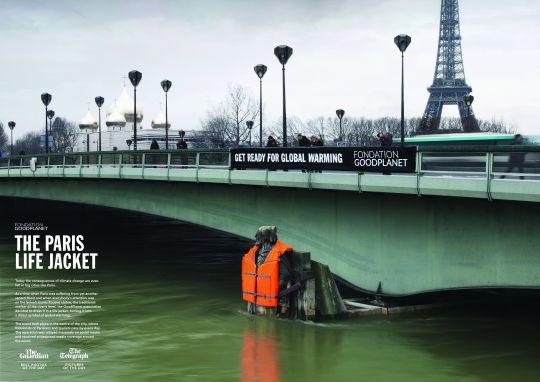 campagne publicitaire Good Planet