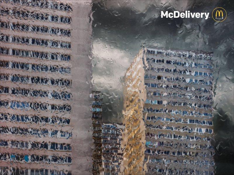 publicité Mcdelivery