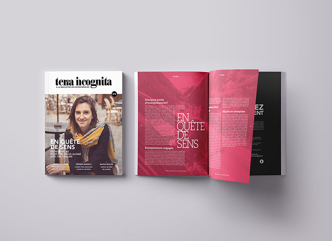 Magazine Terra Incognita par JP Cabaroc