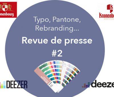 Typo, Pantone, Rebranding, Revue de presse 2