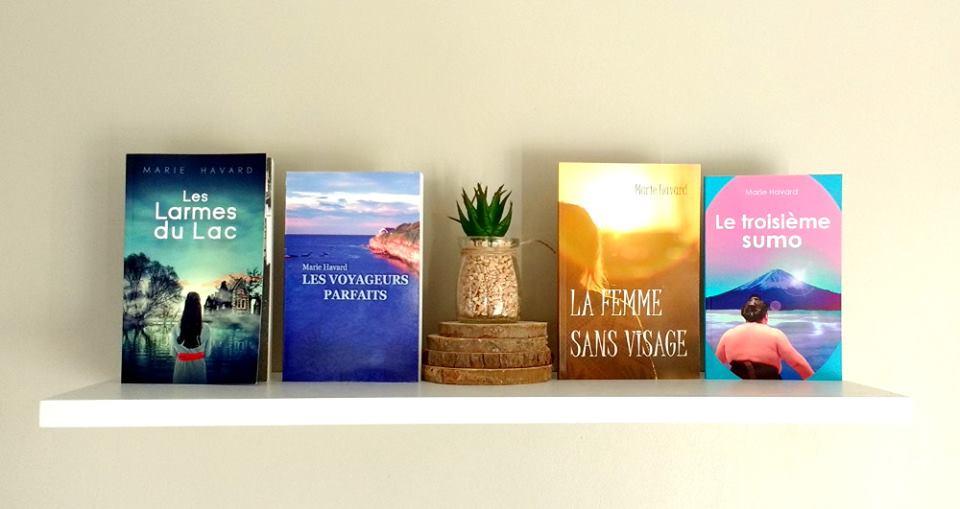 Les ouvrages en auto-édition de Marie Havard