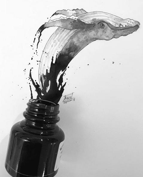 Inktober 2019 de Adriana Garcia