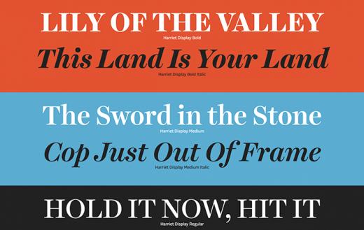 Le Top 10 des typographies qui vont compter en 2020