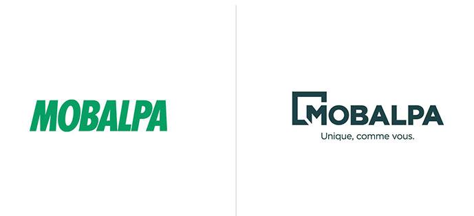Evolution du logo mobalpa