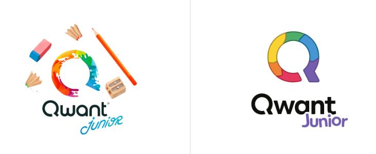 redesign logo qwant junior