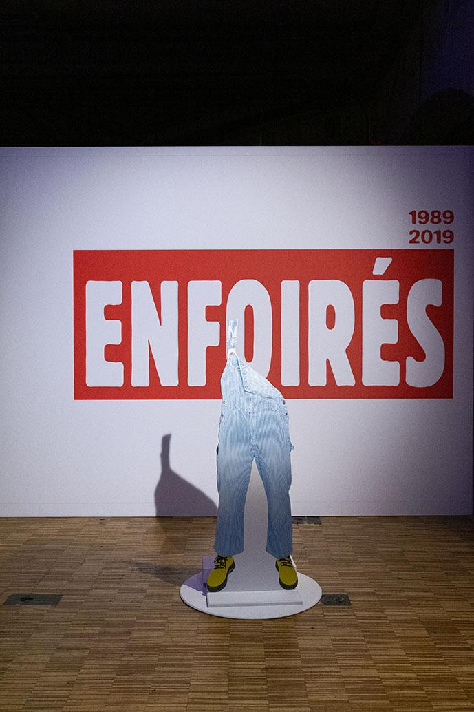 Les enfoirés L'expo