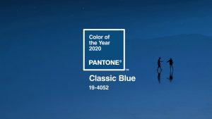 Classic blue, couleur pantone de l'année