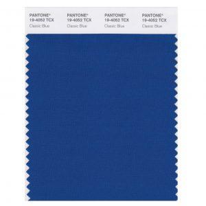 couleur pantone de l'année : classic blue