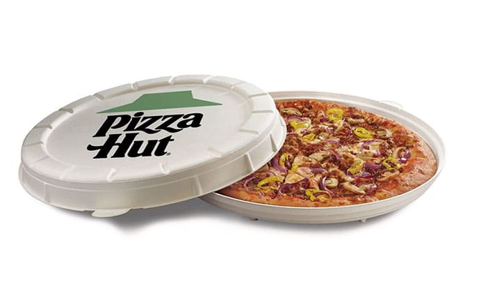 Pizza Hut Pakaging Ecologique