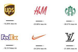 Eco branding : eco conception de logos de grandes marques