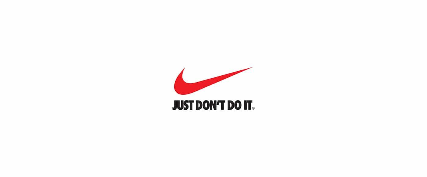 Le célèbre slogan de Nike revu pour le confinement