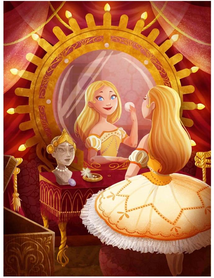 """illustration livre jeunesse """"La princesse mécanique"""""""