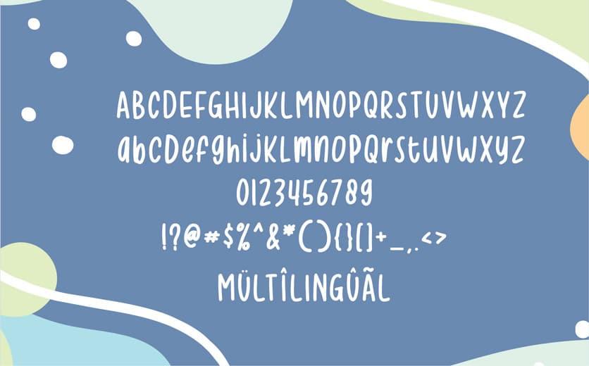 Typographie Coronavirus Sketchy