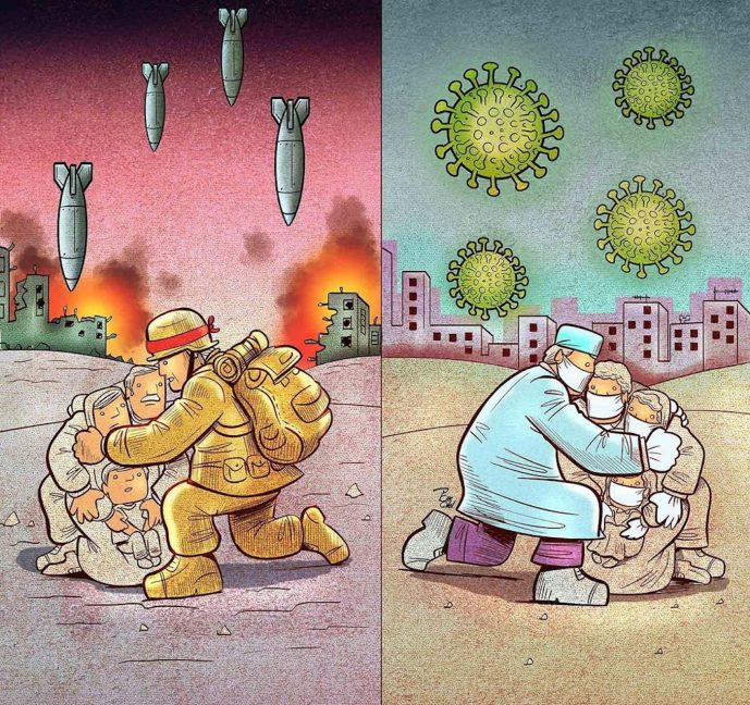Illustration d'Alireza Pakdel