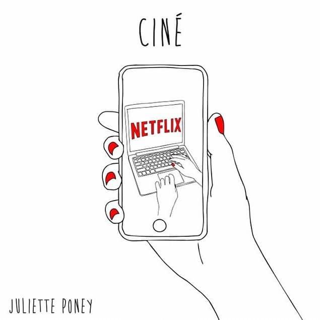 Illustration de Juliette Poney représentant le ciné