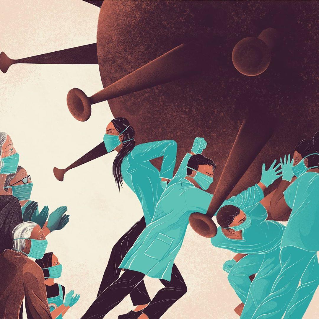Illustration d'Ollie Farthing