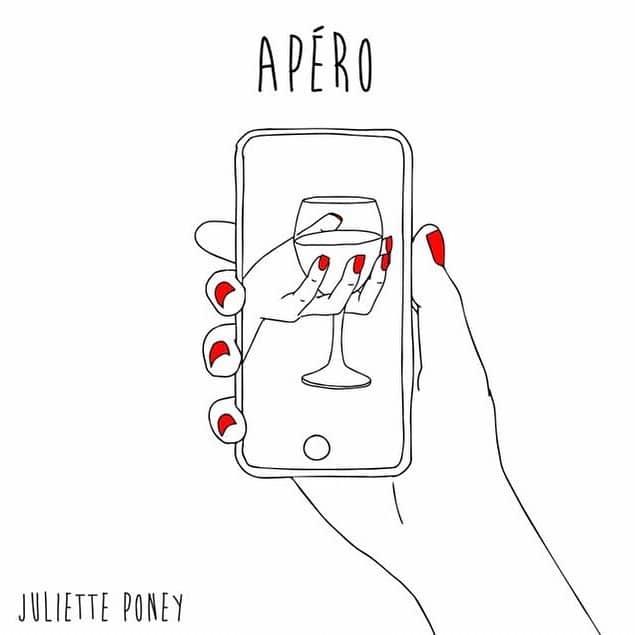 Illustration de Juliette Poney représentant l'apéro