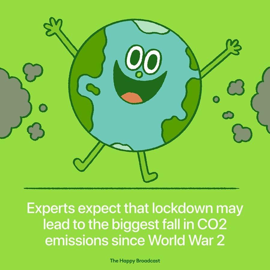Illustration de Mauro Gatti sur la diminution de la pollution