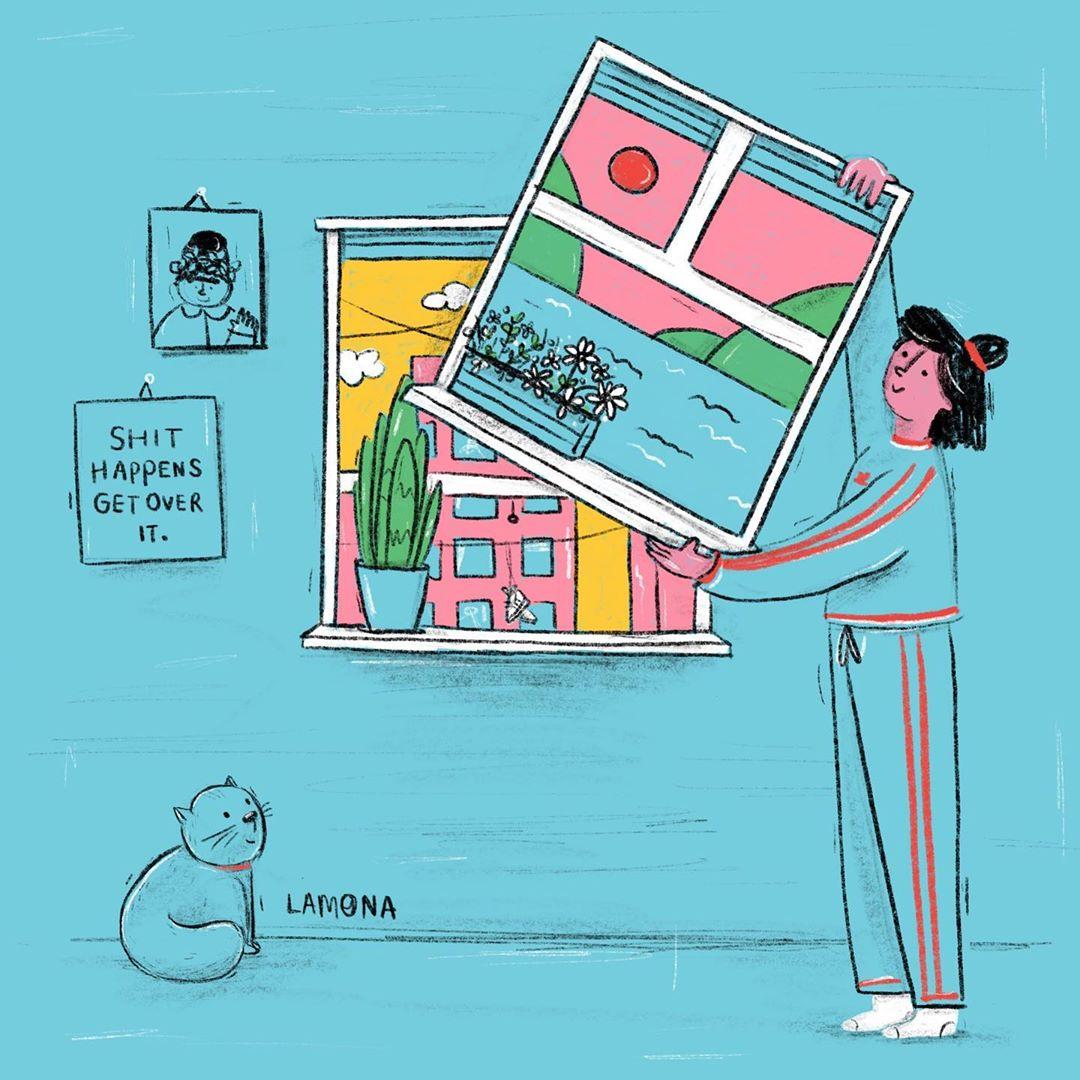 Illustration de Lamona Studio