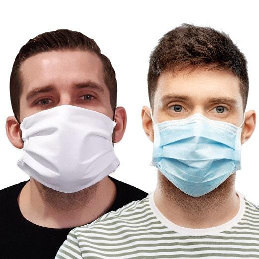 Masque chirurgical ou masque tissu