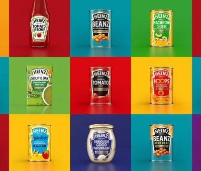 Nouveau packaging Heinz