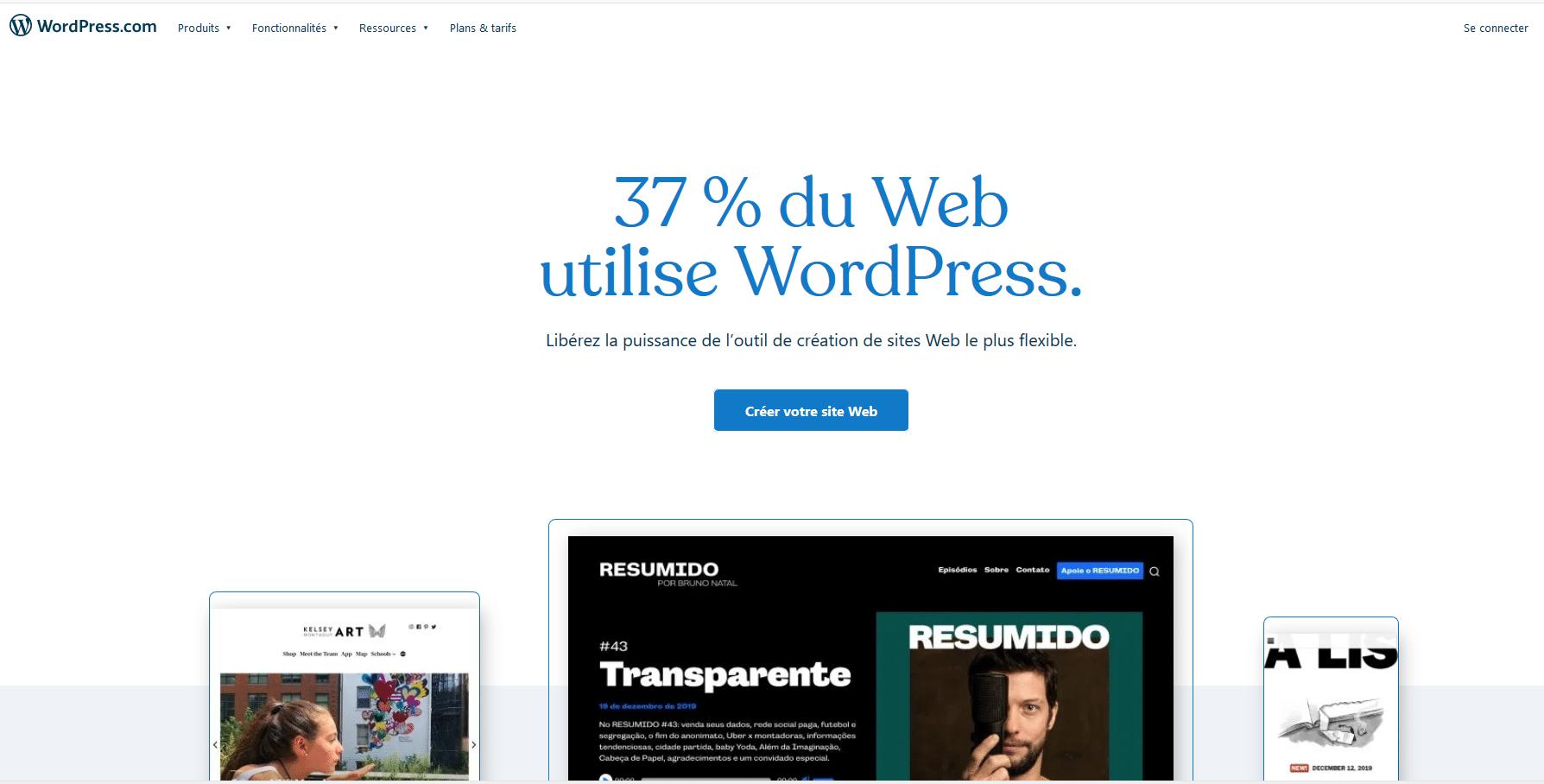 interface wordpress.com