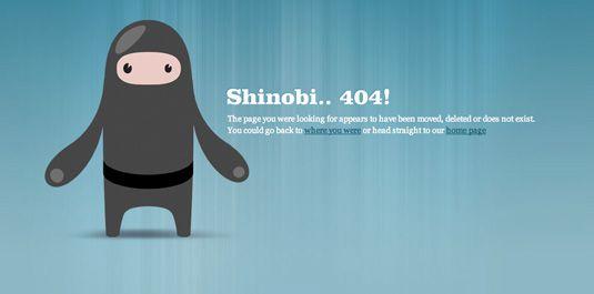 erreur 404 Css Ninja