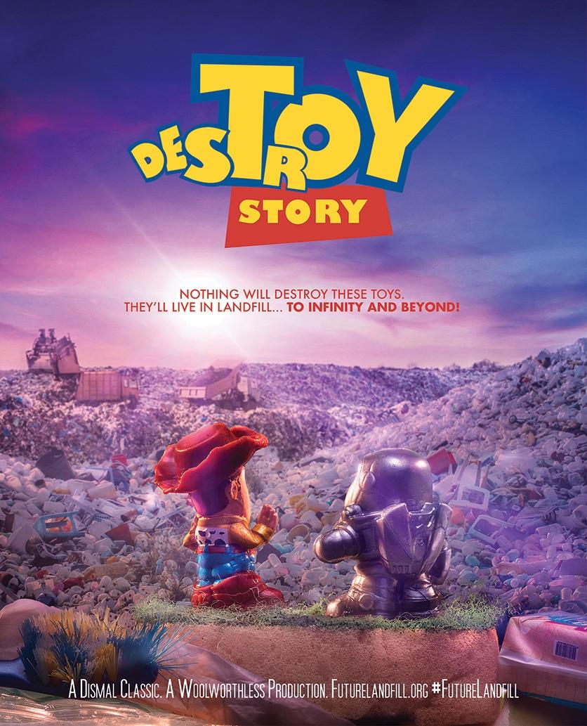 Affiche Parodique Toys Story