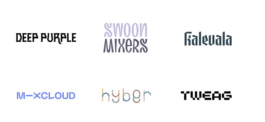 Logo Typographie Originale
