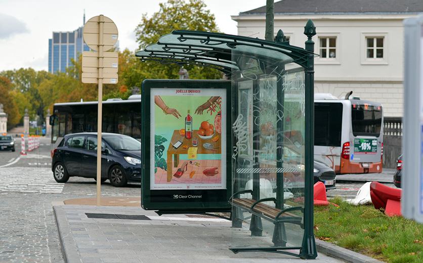 5 artistes collaborent pour créer les nouvelles publicités Campari en Belgique