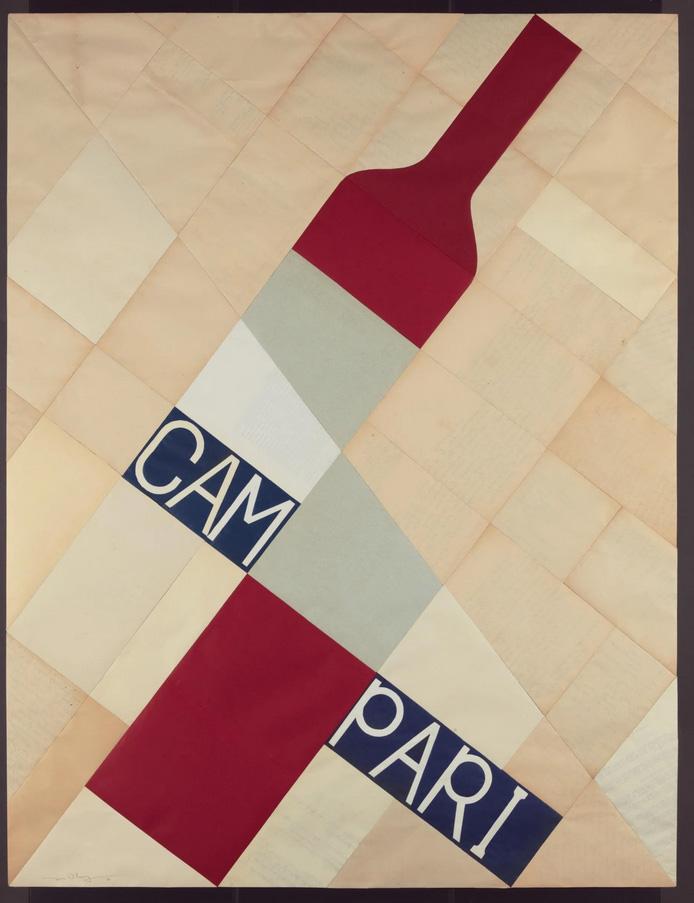 Affiche Campari Jesse Willems