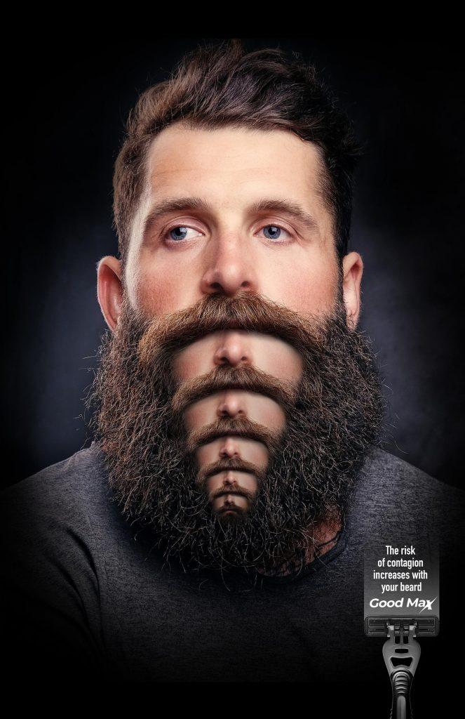Covid et barbe