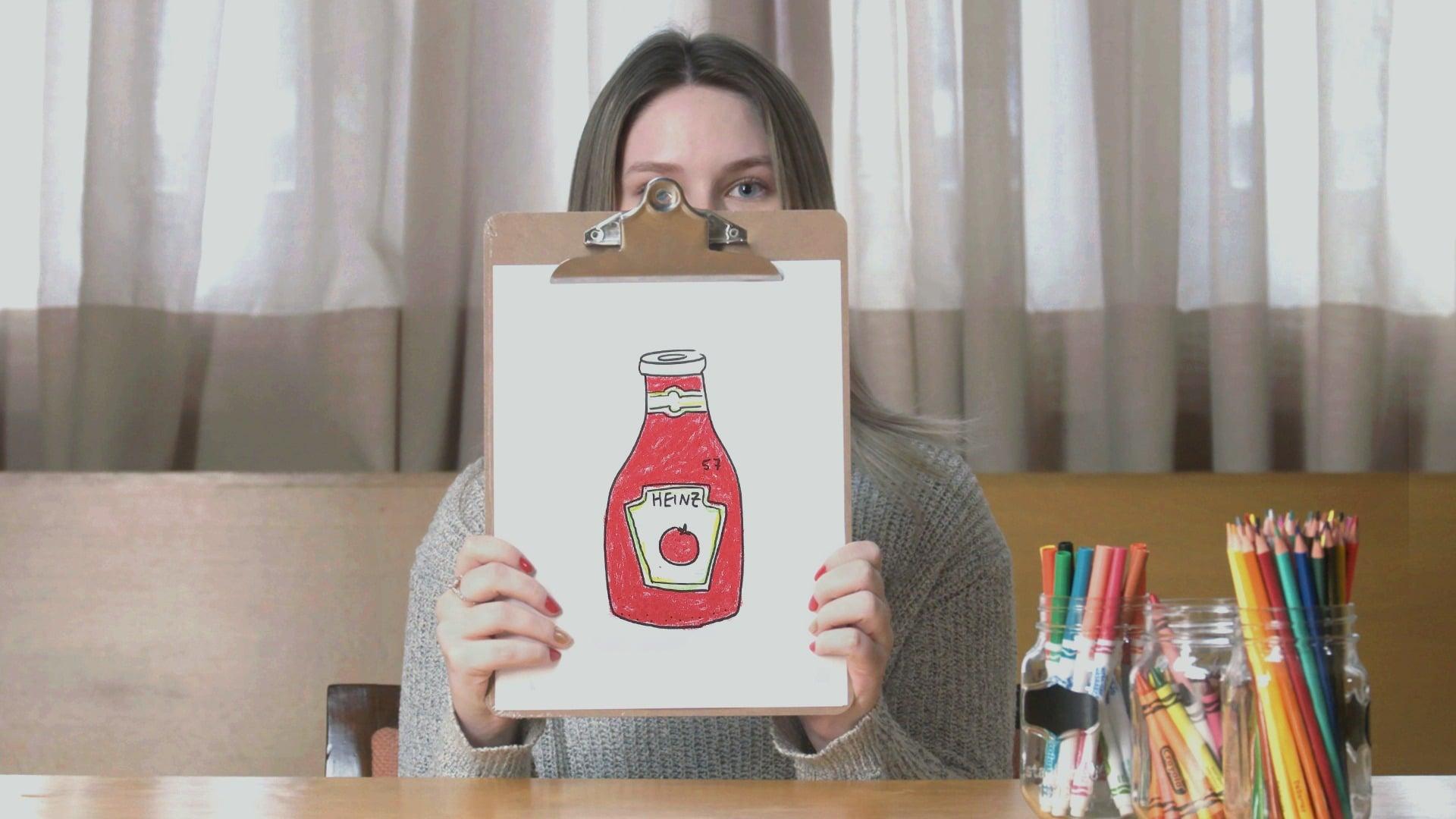 Dessin de Kechup Heinz