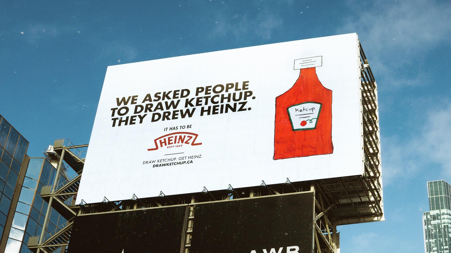 affiche publicitaire de Heinz
