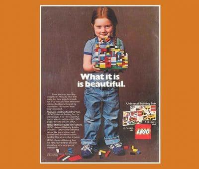 Lego fait revivre sa publicité la plus emblématique à l'occasion du 8 mars