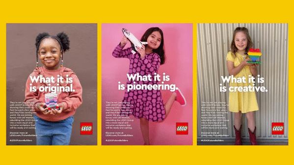 publicités lego récentes