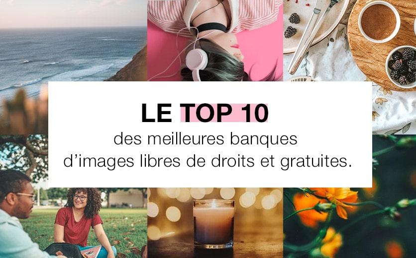 top10 des meilleures banques images