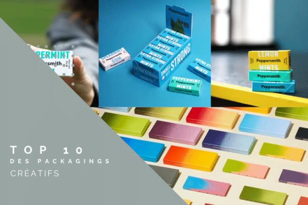 top 10 des packagings créatifs